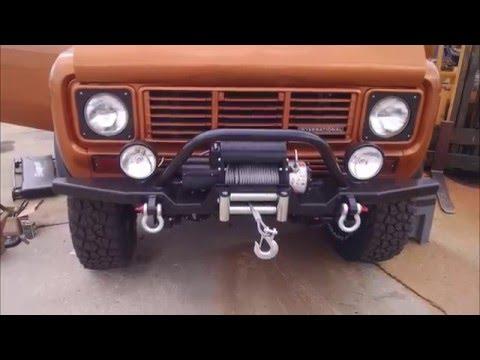1976 IH Scout II - Copper Top
