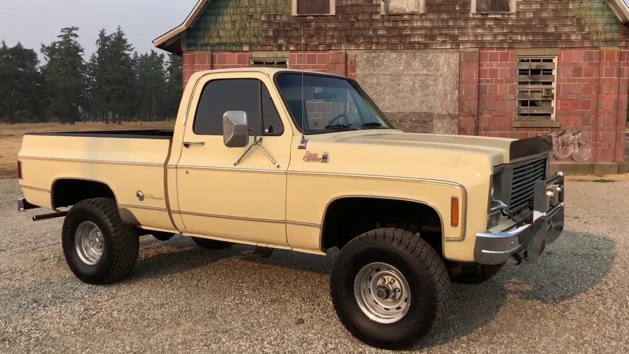 1977 Gmc Sierra Grande Shortbox 400v8 4x4 No Reserve