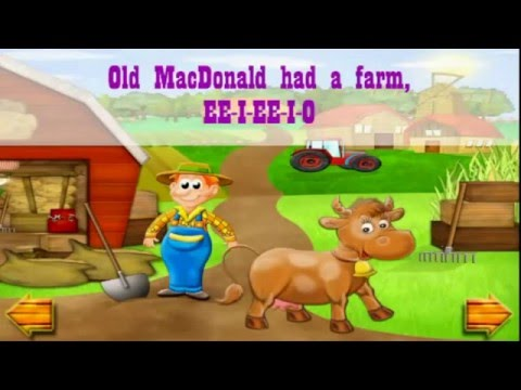 Old MacDonald Had a Farm Song and Itsy Bitsy Spider Song For Kids ! World Kids !