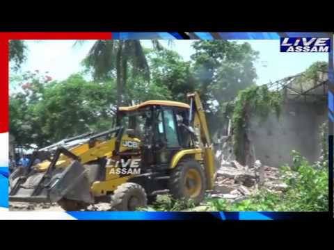 Eviction Drive at Daboka in Hojai district 22-05-17