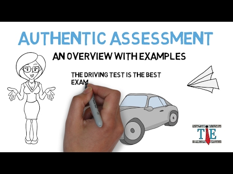 Authentic Assessment Examples  Overview