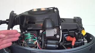 Обзор 4хтактного лодочного мотора Mikatsu MF8FHS MF9,9FHS