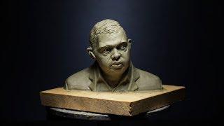 sculpting a head in clay part 2 FULL VIDEO
