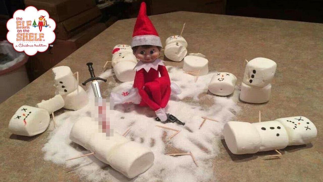 Photos funny elf on shelf the