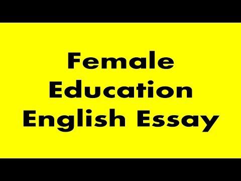 Female Education English Essay