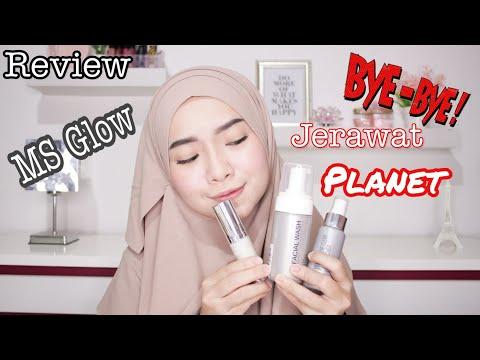 Review Pemakaian 7 Hari Skincare MS Glow Beauty | Febie Ananda