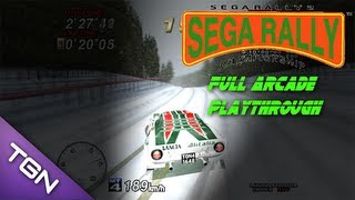 Sega Rally 2 Championship - Full Playthrough HD (Sega Arcade Classic)