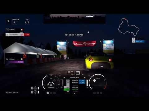 Gran Turismo™SPORT - Colorado Springs - Lake - Night - Mazda Roadster S - Live