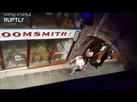 RAW: Police op in Borough Market caught on cam