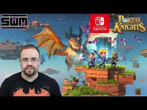 Portal Knights Nintendo Switch - Spawn Wave Plays!