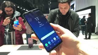 Samsung Galaxy S9 (prvý kontakt)