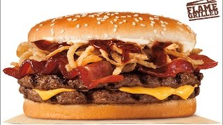 Burger King Steakhouse Re BBQ Bacon