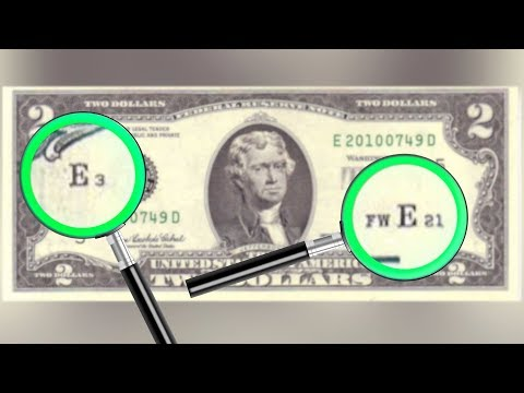 What Do The Small Letters & Numbers On A $2 Bill Stand For? Explainer Video