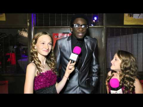 "Disney Good Luck Charlie star Micah Williams ""Emmette"" Interview at the ONE WARM NIGHT Premiere"