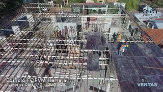 AVANCE DE OBRA: Edificio FORVM Herrera, JULIO 2020