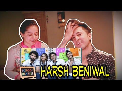 REACTION ON School Diaries | Harsh Beniwal