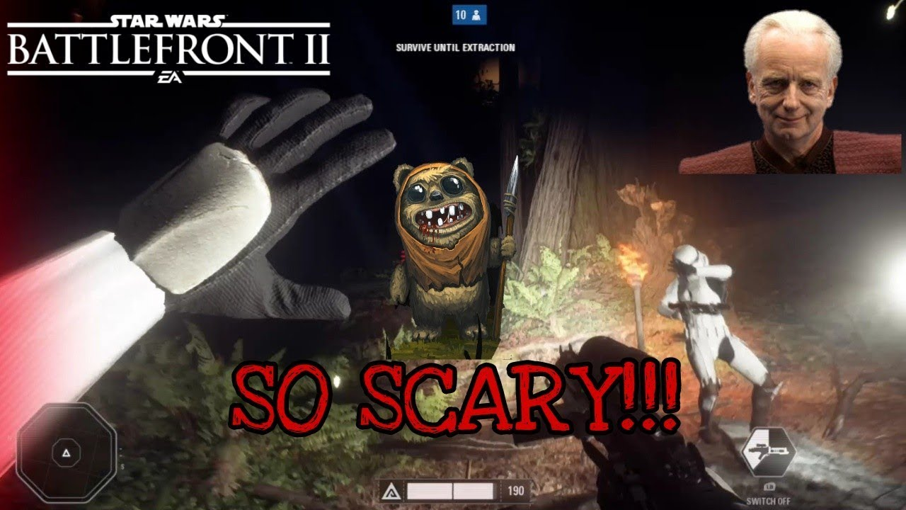 Ewok Hunt Battlefront 2 Scary Momentsgameplay Survivalist