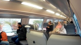 How we train travel from Belgium to Amsterdam Netherlands