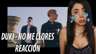 No Me Llores 😭   - Duki X Leby  ReacciÓn  Laurasad 💔