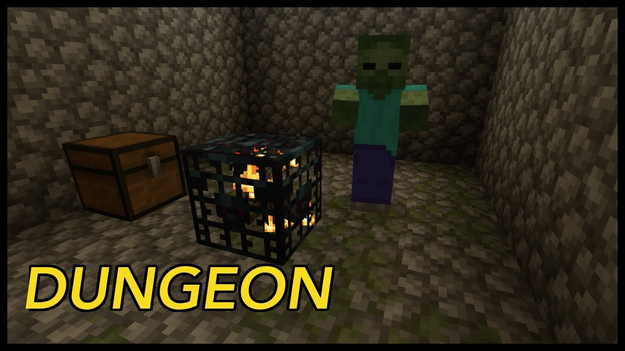 Where To Find Dungeons In Minecraft Youtube