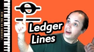 How to read music on ledger lines fast