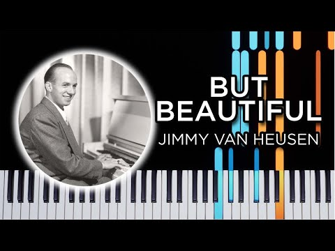 But Beautiful – Jazz Piano Solo tutorial