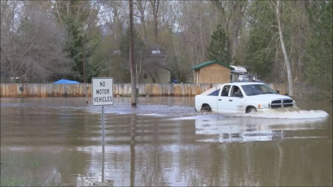 Flooding in Missoula from Record Snow Pack Warm Temps and ...