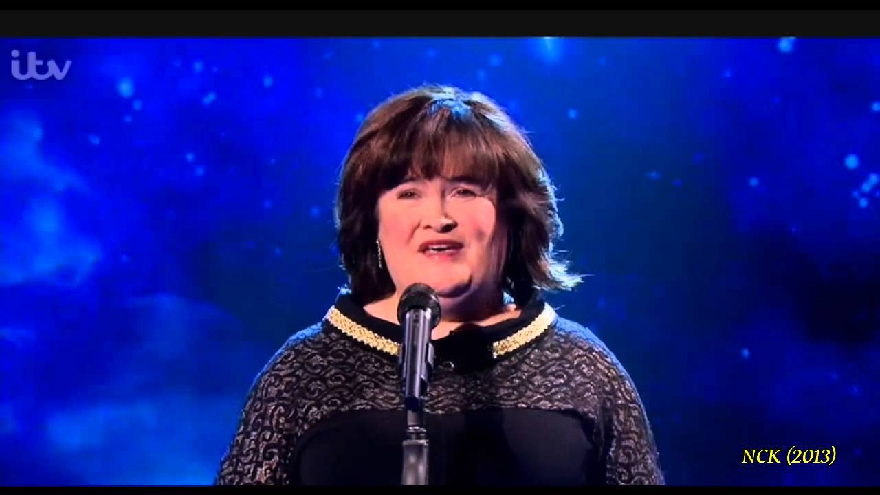 Susan Boyle ~ Little Drummer Boy ~ Paul O'Grady Show (29 Nov 13 ...