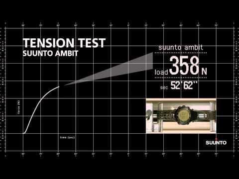 Suunto Ambit tension test: Suunto Ambit