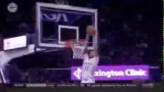 Mychal Mulder with a Big Wildcat Dunk