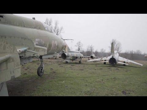 Abandoned WW2 Airbase Shows Sleeping War Machines