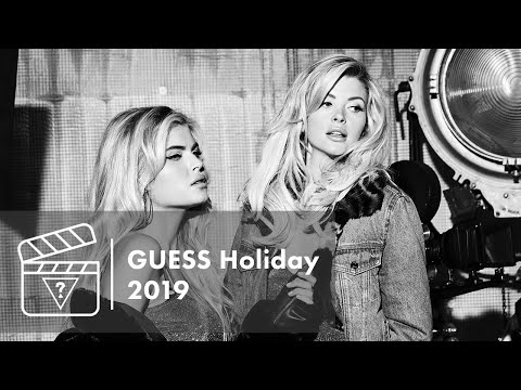 Behind the Scenes - GUESS Holiday 2019 Campaign