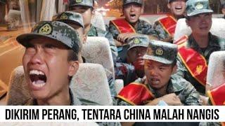Dikirim Ke Perbatasan India, Tentara China Malah Nangis