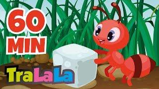 O furnică duce-n spate 60 MIN - Cântece pentru copii | TraLaLa