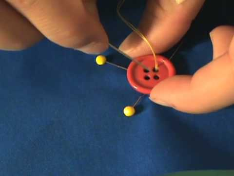 Sewing Tip #2: How To Hand Sew A Button