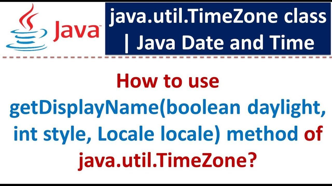 Java Locale