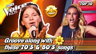 Download The most SENSATIONAL 70's & 80's 🕺 songs in The Voice Kids | Top 10