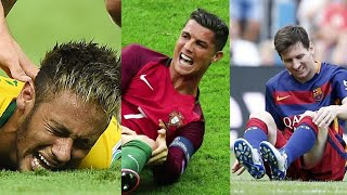 Players Hunting on Neymar, Lionel Messi, Cristiano Ronaldo ● Horror Fouls & Tackles |HD (PART 2)