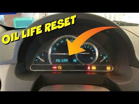 Chevy HHR Engine Oil Life Reset - Fast