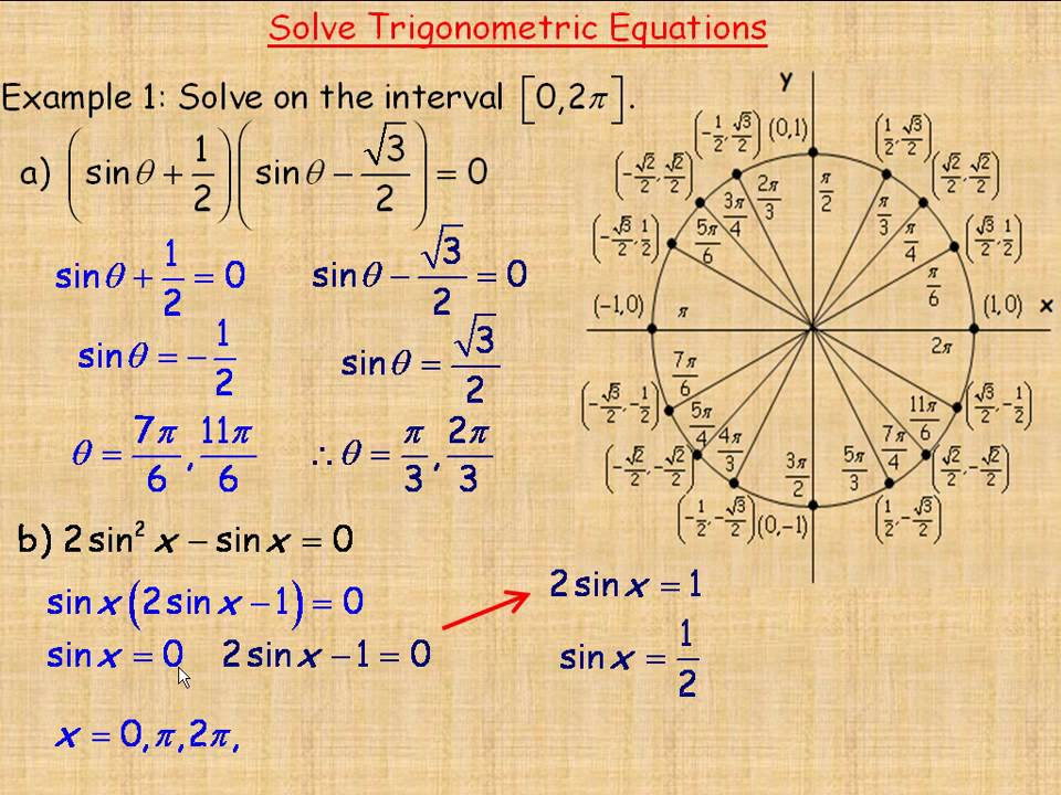 How to Solve Trigonometric Equations: 8 Steps (with Pictures)