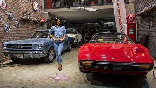 Deniz Saypnar ile Klasik Otomobil Garaj Ziyareti Fiat 500 the hatuns