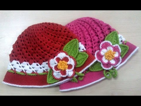 Crochet Patterns| for free |crochet hat patterns for kids| 1046 ...