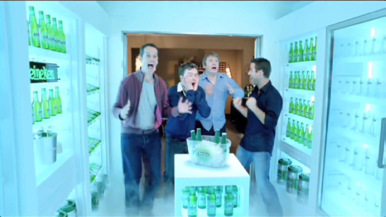 Heineken - Begehbarer Kühlschrank HD - Lustige Bier Werbung - YouTube