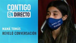 """""""Cometió el error de dejarlo solo"""": Madre de Tomás Bravo sobre tío abuelo - Contigo en Directo"""