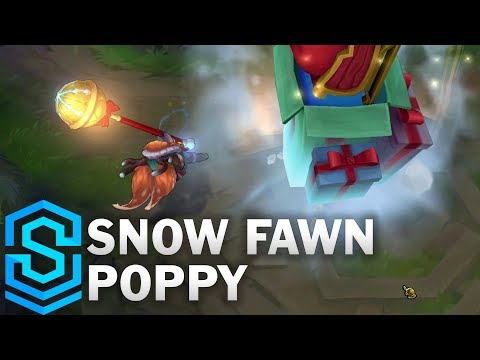 Snow Fawn Poppy Skin Spotlight - Pre-Release - League of Legends