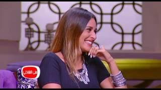فيديو أمينة خليل تسرد موقفاً مضحكاً عن أزياء مسلسل جراند أوتيل