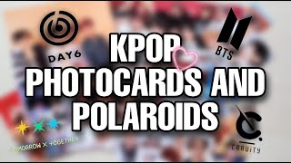 KPOP Photocards and Polaroids (BTS, DAY6, TXT, CRAVITY) | ayen pabo