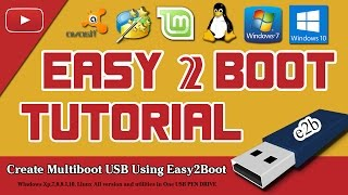 Create Multiboot Usb Pen Drive Using Easy2Boot (Tutorial )
