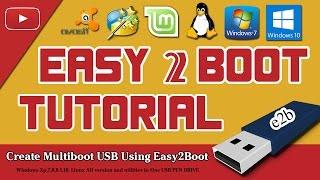 Create Multiboot Usb Pen Drive Using Easy2Boot (Tutorial )
