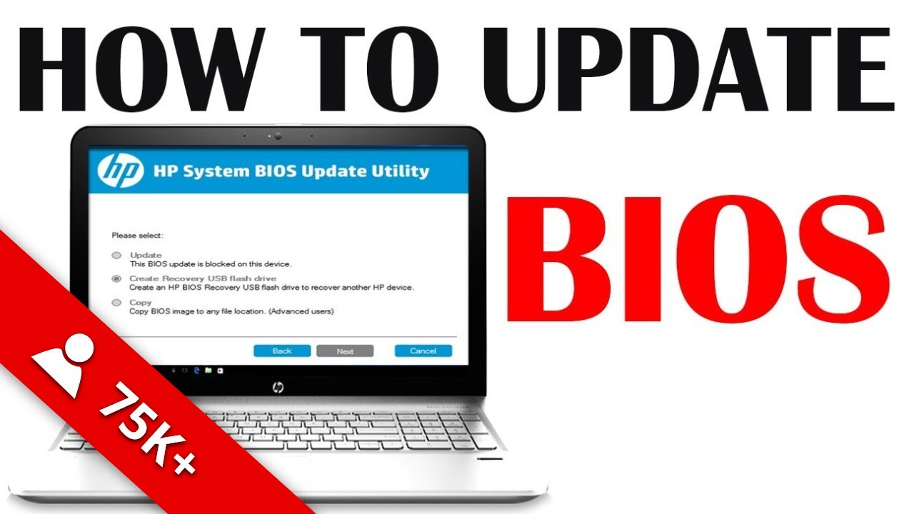 How To Update Bios Firmware On Hp Laptop Flashing Bios Hp Ay516tx Notebook Youtube